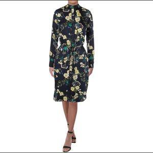 Lauren Ralph Lauren Floral Button Down Dress Sz 8